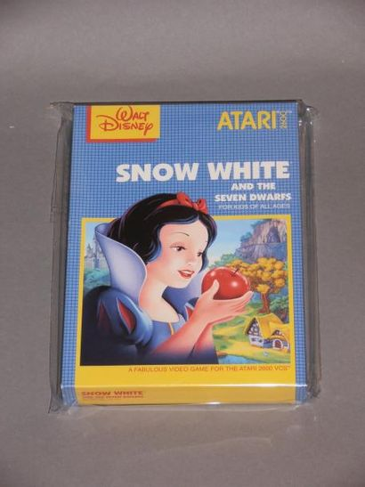 «Snow White» (Blanche Neige) pour Atari 2600....