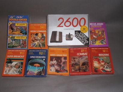 Console «2600 compatible 32 built-in», fourni...