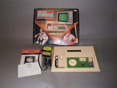 Console EPOCH TV Baseball - Japon 1978 Complet...