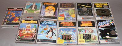 Lot de 11 jeux neufs pour CBS Colecovision...