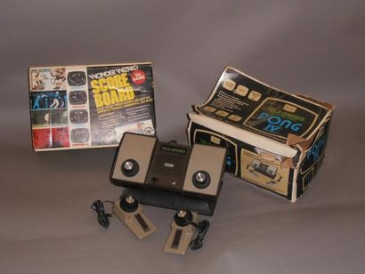 Sears Pong IV (USA, 1975) - Version 4 joueurs...