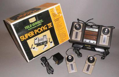 Sears Super Pong IV version 4 joueurs - très...