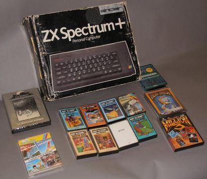 Ordinateur Sinclair ZX Spectrum + (Personal computer) - Angleterre 1984 n°A01/060501...