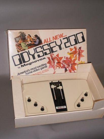 Console Odyssey 200 (1975) en boîte d'origine....