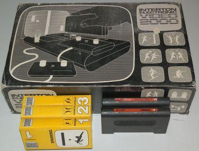 Console Interton Video 2000 Allemagne 1975...