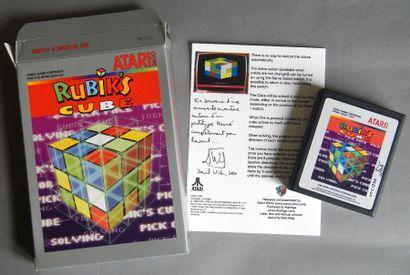 Jeu Rubik's Cube 3D pour Atari 2600 (David...