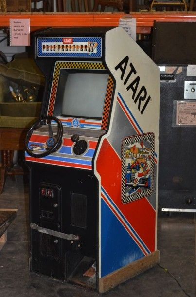 Borne Atari racing Pole-Position II version...