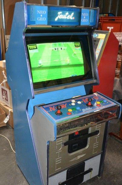 Borne Jeutel Neo Geo pour 2 joueurs.