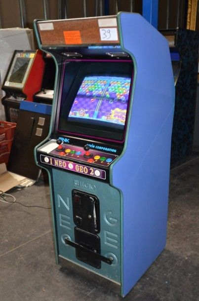 Borne italienne Rit Legno SNK Neo Geo. Système...