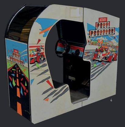 Borne Atari Pole-Position version Cabine...