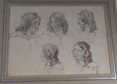 Attribué à Wolfgang Adam TOEPFFER (Genève 1766 - Morillon 1847)