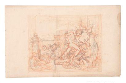 Attribué à Antoine Jean-Baptiste THOMAS (Paris 1791 - 1834)