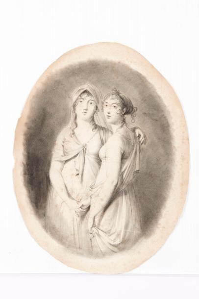Charles Etienne LEGUAY (Sèvres 1772 - Paris 1846)