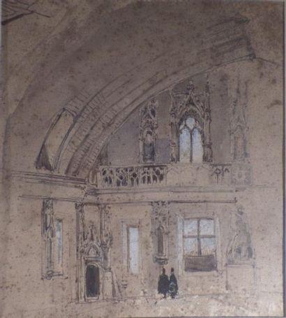 Ecole ANGLAISE du XIXème siècle