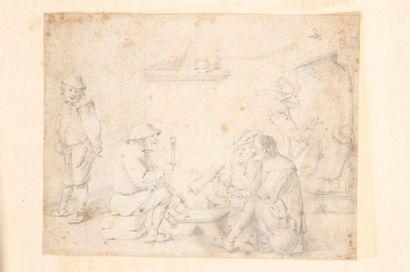 Attribué à David TENIERS (Anvers 1610 - 1690)