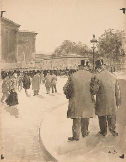 Louis SABATTIER (Annonay 1863 - Nice 1935)