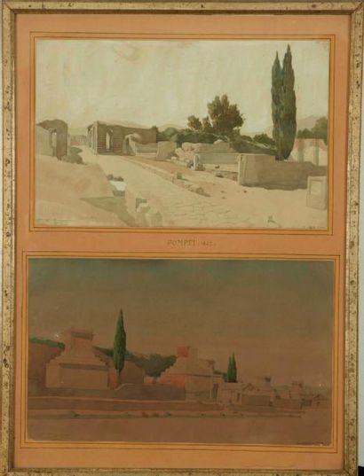 Louis François Philippe BOITTE (Paris 1830 - Fontainebleau 1906)