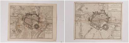 Plan de Tournay, gravé en taille-douce. La...