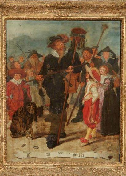 Adriaen van de VENNE (Delft 1589 - La Haye 1662)