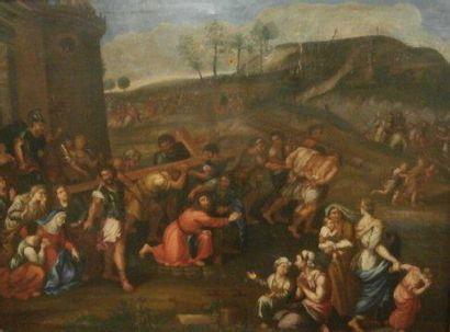 Ecole FRANCAISE du XVIIème siècle, suiveur de Pierre MIGNARD