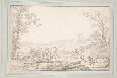 Esaias VAN DE VELDE (Amsterdam 1587 - La Haye, 1630)
