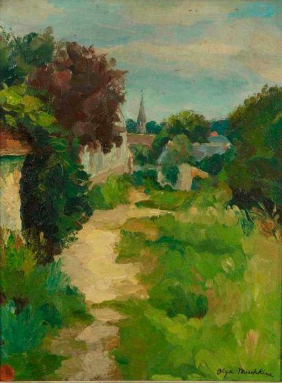 Olga MISCHKINE (Roubaix 1910 - Paris 1985)