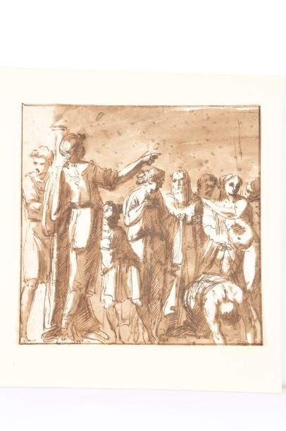 Attribué à Felice GIANI (Gênes 1760 - Rome 1823)