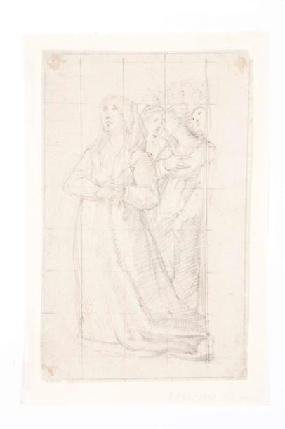 Attribué à Giovanni Battista NALDINI (Florence 1537 - 1591)