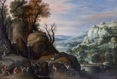 Attribué à Maarten RYCKAERT (1587-1631)