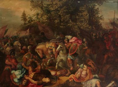 Attribué à Adrien van STALBEMT (Anvers 1580 - 1662)