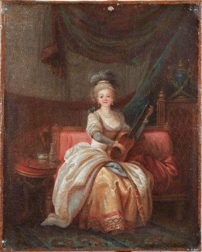 Ecole FRANCAISE du XVIIIème, suiveur de Jean-Baptiste