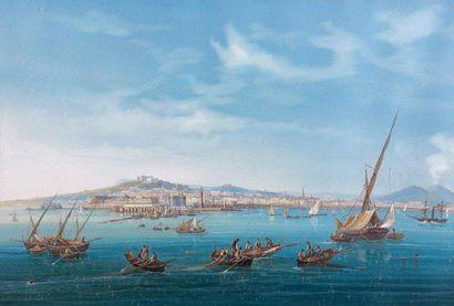 Gioacchino LAPIRA (Actif à Naples vers 1839 - 1870)