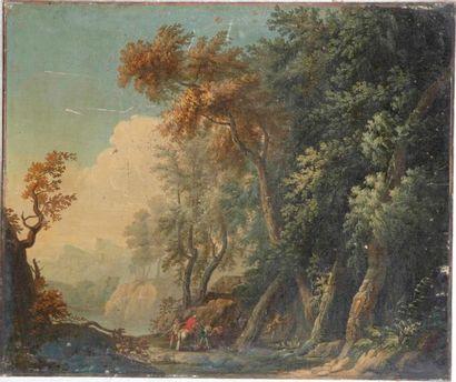 Ecole FRANCAISE du XVIIIème siècle, entourage de Nicolas Jacques JULLIARD