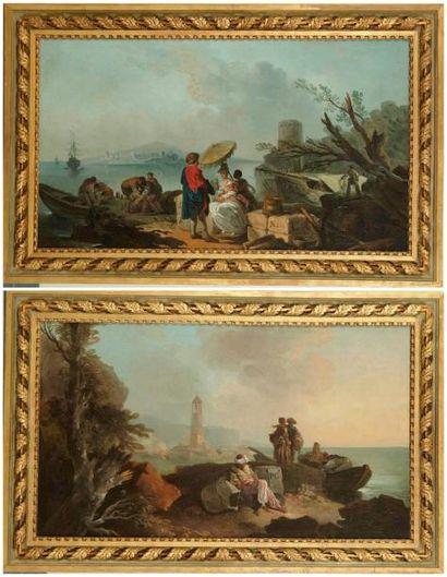 ECOLE ESPAGNOLE VERS 1760