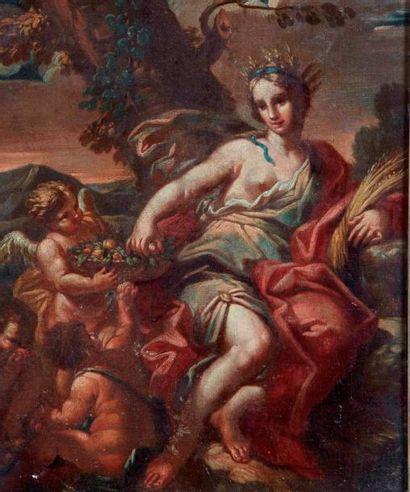 Ecole NAPOLITAINE du XVIIIème, suiveur de SOLIMENA