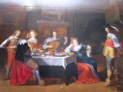 Attribué à Christoffel van der LAMEN (1606 - 1652)