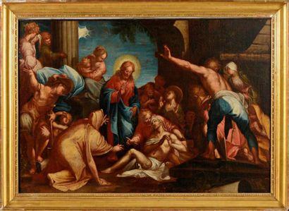 École ITALIENNE du XVIIe siècle, suiveur d'Abraham BLOEMAERT
