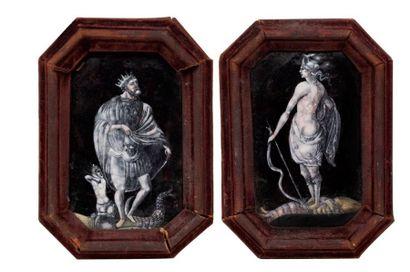Attribué à Pierre ou Jean PÉNICAUD. Limoges, milieu du XVIe siècle