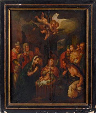 École FLAMANDE vers 1600, entourage d'Otto van VEEN