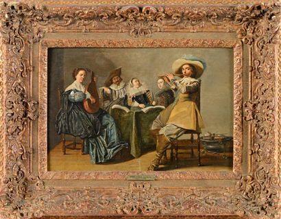 Dirk HALS (1591-1656)