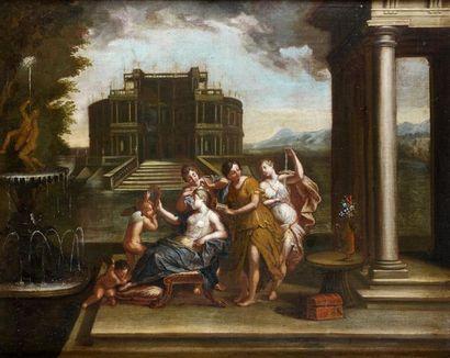 École BOLONAISE du XVIIe siècle, suiveur de Francesco ALBANI