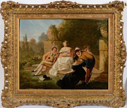 Alfred Edward CHALON (Genève 1780 - Kensington 1860)
