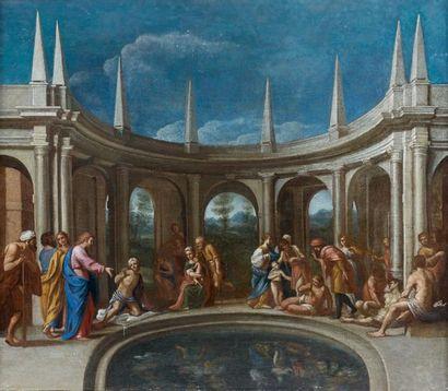 École BOLONAISE du XVIIe siècle, entourage de Lucio MASSARI