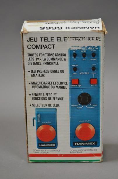 Hanimex jeu tele électronique compact en...