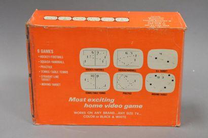 PONG ITMC télé-jeux 6 en boite + guide d'utilisation...