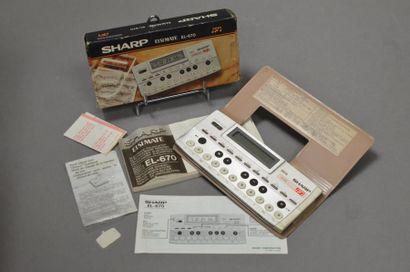 SHARP Elsi Mate EL-670 en boite notice n°B7005935...