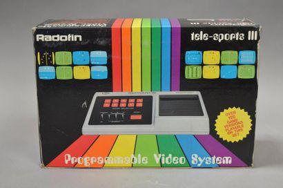 Radofin Tele-sports III en boite complet-...