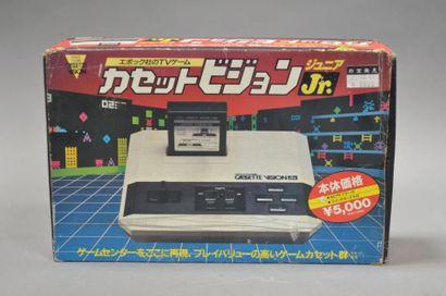 Epoch TV Game Cassette vision jr en boite...