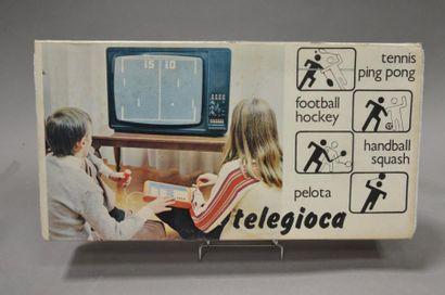 Telegioca italien PONG 4 jeux n°073202 neuf...