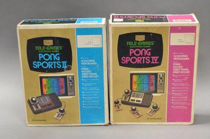 Sears Telegames PONG Sports IV & Sports II...